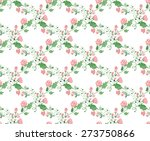seamless pattern with...   Shutterstock .eps vector #273750866