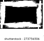 abstract grunge frame | Shutterstock .eps vector #273756506