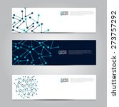 vector design banner network... | Shutterstock .eps vector #273757292