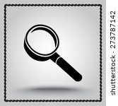 search sign icon  vector... | Shutterstock .eps vector #273787142
