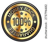 money back guarantee | Shutterstock .eps vector #273796682