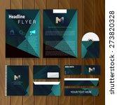 triangle corporate identity.... | Shutterstock .eps vector #273820328