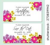 flower blossom. romantic... | Shutterstock .eps vector #273839942