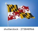 vector art flags waving... | Shutterstock .eps vector #273848966