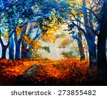 Original Oil Painting On Canvas....