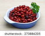 Red Canned Beans With Fresh...