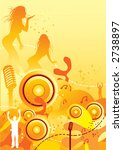 funky and fresh design piece... | Shutterstock . vector #2738897