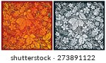 russian traditional ornamental... | Shutterstock .eps vector #273891122