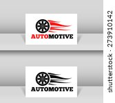 wheel in fire flame logo design ... | Shutterstock .eps vector #273910142
