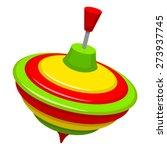 humming top | Shutterstock .eps vector #273937745