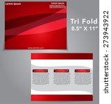 tri fold brochure vector design | Shutterstock .eps vector #273943922