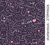 bright vector seamless pattern... | Shutterstock .eps vector #273945626