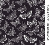 seamless pattern with... | Shutterstock .eps vector #273954548
