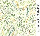 spring pattern | Shutterstock .eps vector #273964586