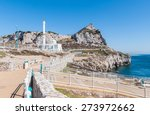 White Mosque At Europa Point On ...