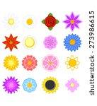 vector illustration of a set of ...   Shutterstock .eps vector #273986615