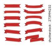 ribbon icons | Shutterstock .eps vector #273994232