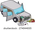 Cartoon Of Bleeding Man Under...