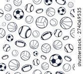 Vector Sports Balls Black And...