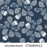 abstract seamless pattern.... | Shutterstock .eps vector #274084412