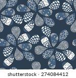 abstract seamless pattern.... | Shutterstock .eps vector #274084412