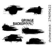 grunge elements   illustration 5   Shutterstock .eps vector #274090622