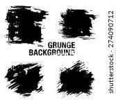 grunge elements   illustration... | Shutterstock .eps vector #274090712