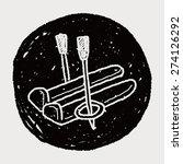 ski doodle | Shutterstock .eps vector #274126292