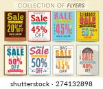 posters  banners or flyers... | Shutterstock .eps vector #274132898
