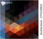 vector geometric shapes.... | Shutterstock .eps vector #274133822