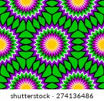 abstract colorful floral... | Shutterstock .eps vector #274136486