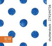 watercolor polka dots pattern...