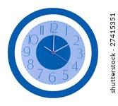 two o clock   Shutterstock . vector #27415351