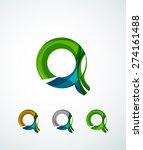 letter company logo design.... | Shutterstock .eps vector #274161488