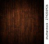 dark wood panels. | Shutterstock . vector #274203926