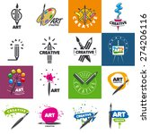 biggest collection of vector... | Shutterstock .eps vector #274206116