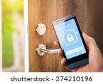 smart house  home automation ... | Shutterstock . vector #274210196