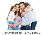 happy family | Shutterstock . vector #274215512