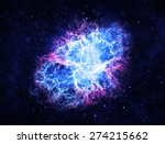 Blue Crab Nebula   Elements Of...