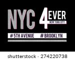 Varsity New York Graphic