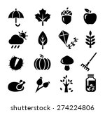 collection of icons... | Shutterstock .eps vector #274224806