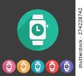 watch icon sign symbol logo...   Shutterstock .eps vector #274228742