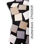 black mannequin on white... | Shutterstock . vector #27423319