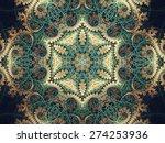 Intricate Fractal Mandala ...