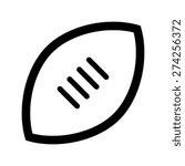football vector icon   Shutterstock .eps vector #274256372