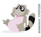 a cartoon vector illustration... | Shutterstock .eps vector #274291265