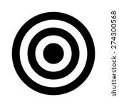 bullseye target or arrow target ... | Shutterstock .eps vector #274300568