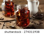 homemade cold brew coffee to... | Shutterstock . vector #274311938