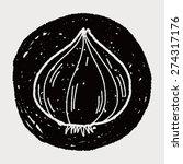 garlic doodle | Shutterstock .eps vector #274317176