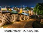 The Old Walls Of Hwaseong...
